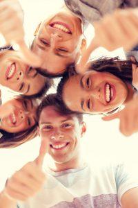Positive Jugendliche